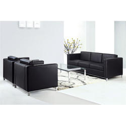 Black Modern Office Sofa Set, Rs 26000 /set, Ahuja Furnitures | ID ...