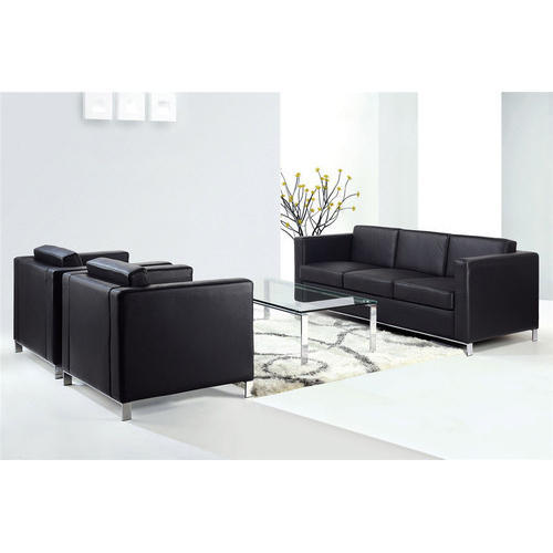 Black Modern Office Sofa Set Rs 26000 Set Ahuja Furnitures Id