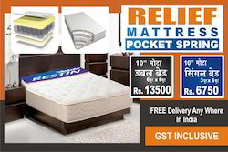King Bed Size Pocket Spring Mattress
