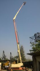 Articulating Boom Lift On Rental