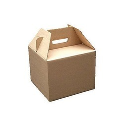 Paper Brown Mono Corrugated Box