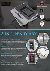 2 in 1 Pen And Diary