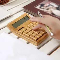 竹12位生态友好的计算器