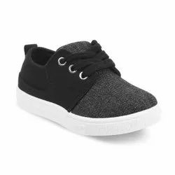Kids Black Casual Shoes