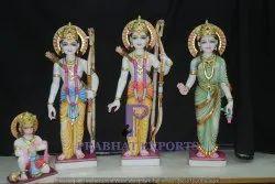 Marble Ram Darbar Statues With Hanuman
