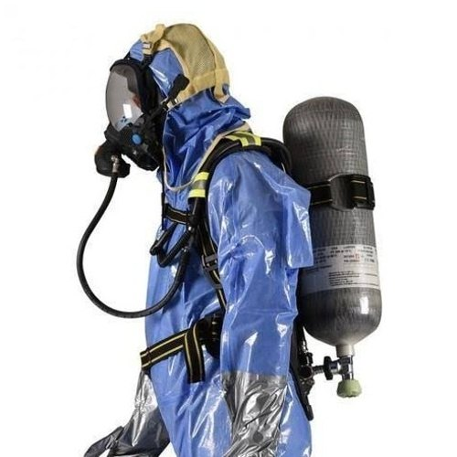 Self Contained Breathing Apparatus Scba Saviour, सेल्फ़ कंटेंड ब्रीदिंग  एपरेटस - Universal Fire And Safety Solutions, Surat | ID: 20452271533