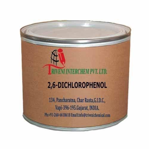 White Crystal 2,6-Dichlorophenol, Packaging Type: Fiber Deum, Grade Standard: Technical Grade