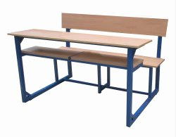Three Seater Bench Desk