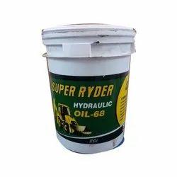 Super Ryder Hydraulic Oil 68, Packaging Type: Bucket