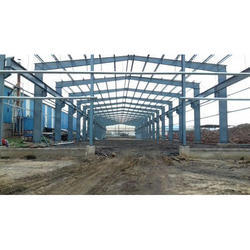 Steel House PEB Structural Shed