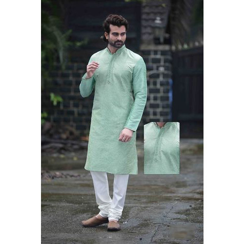 9a29e41250 Dupion Silk Party Wear Designer Men Kurta Payjama, Size: 38, Rs 1695 ...