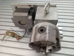 Aluminium Axis CNC Machine Accessories for 4th Axis, Model Name/Number: Rra_rotary_axis_100mm