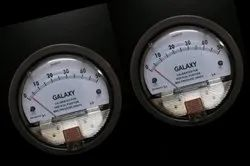 Galaxy Model G2000-6MM Magnehelic Gauge Range 0-6 MM
