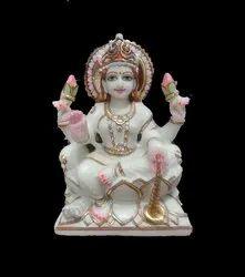 Marble  Lakshmi Statue