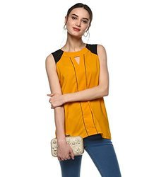 Ladies Sleeveless Crepe Top