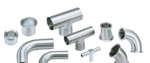 Hygienic Pipe fittings - View Specifications & Details of