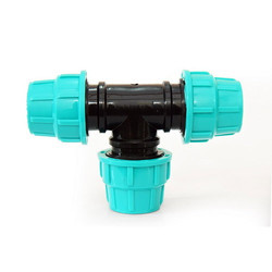 PP Compression Pipe Tee