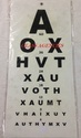 English Eye Vision Chart
