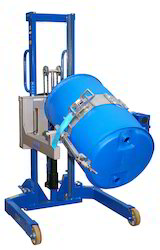 Manual Barrel Rotating Hydraulic Stacker
