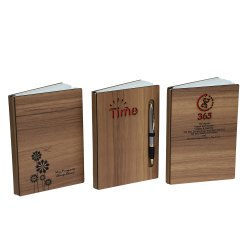 Wooden Customized Notebook