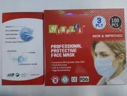 3 Ply Mask Without Nosepin