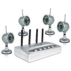 Plastic Wireless CCTV Cameras, For Security Purpose