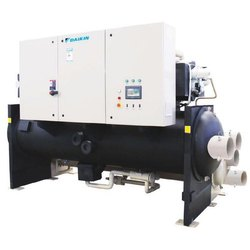Daikin Water Cooled Single Screw Chiller, Water-Cooled, for Commercial
