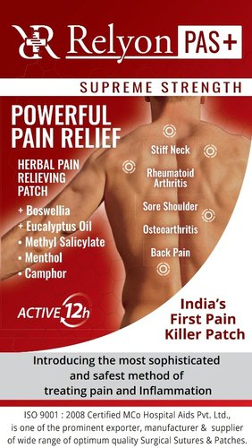 Pain Reliever Patch