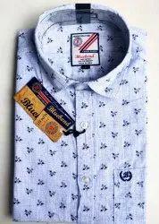 Cotton Men Printed Shirts