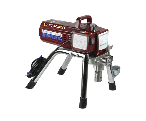 Airless Paint Sprayer - Petrol Engine Driven Airless Sprayer