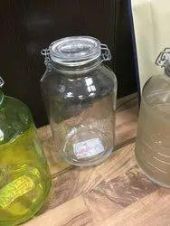 Flint 5 Litre Glass Jar, Capacity: 5litre, Packaging Type: Box Pack