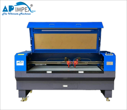 Industrial Double Head Laser Cutting Machine