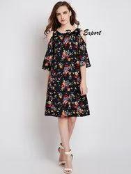 Girl Cotton Midi Dress