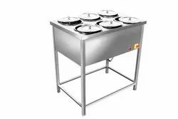 JYOTI Cast Iron Bain Marie, For Hotel