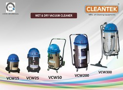 CLEANTEK Stainless Steel Vacuum Cleaning Machine, 220 V