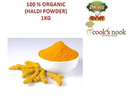 Yellow OmJee GaiChhap Turmeric for Home, Packaging Size: 1 kg