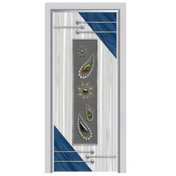 6-8 Feet Wood Micro Coated Laminated Door, Features: Waterproof