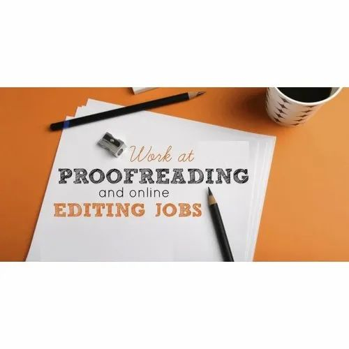 Proofreading editing service