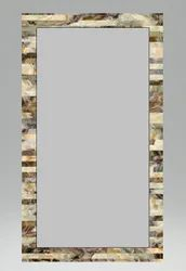 Polished Decorative Glass Mirrors, For Bathroom, Size: 18 X 24 Inch