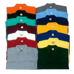 Collar Neck Cotton Kids Polo T-Shirt