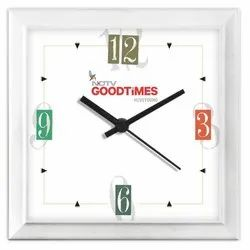 Customized Plastic Square Wall Clock
