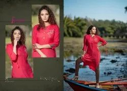 Psyna Poshak Vol 3 Simple Designer Ladies Kurtis Collection
