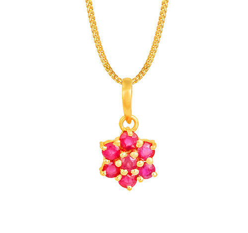 380259ee8a8bc Tanishq Gold Pendant