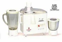 Singer JM33N 450 Watts Juicer Mixer Grinder ( White , 2 Jars )