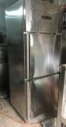 Stainless Steel Commercial Double Door Electric Refrigerator