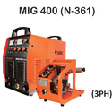 Semi-automatic Jasic Mig-400 Welding Machine, 220v