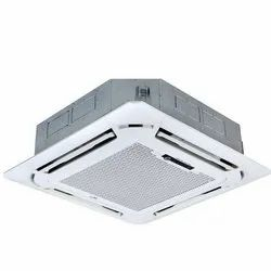 ABS Plastic Ceiling Mounted Cassette Air Conditioner, Capacity: 1.5 - 4 Ton