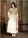 White Designer  Anarkali