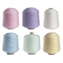 Dyed Acrylic Worsted Yarn, For Knitting, Count: 30