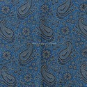 Paisley Turquoise Bolster Cover